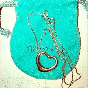 Tiffany necklace and dust bag